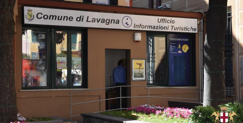 Lavagna, l'infopoint turistico