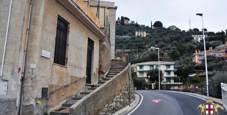 Pieve Ligure: Una crosetta