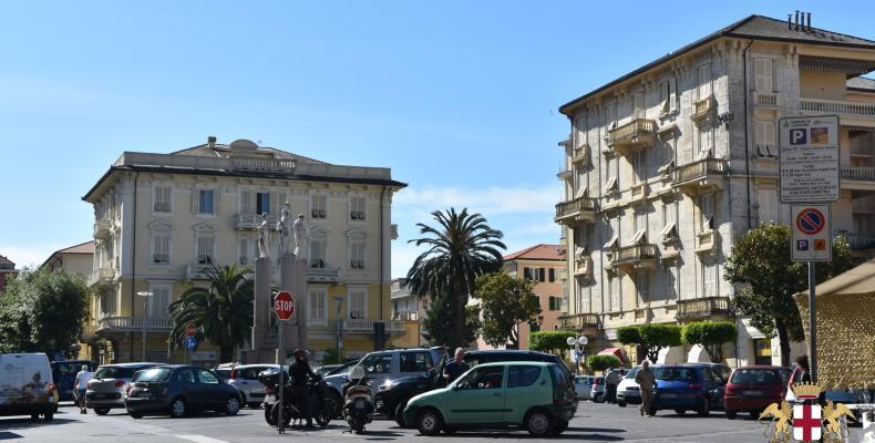 Lavagna, Piazza Vittorio Veneto