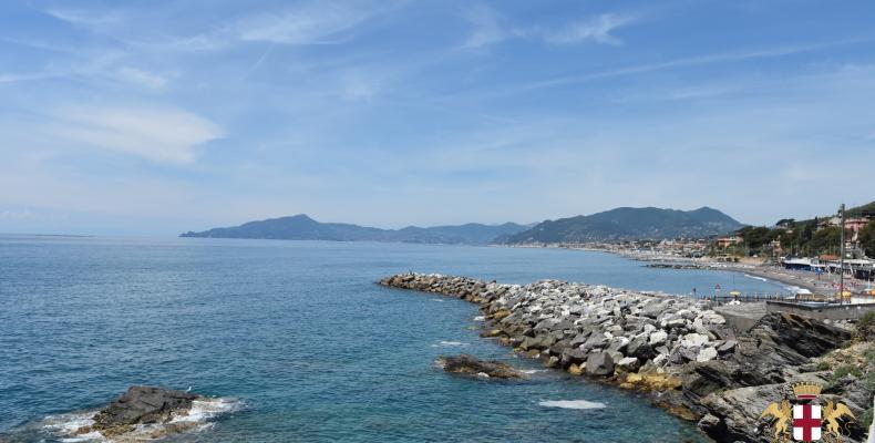 Lavagna, frazione Cavi Borgo, il molo