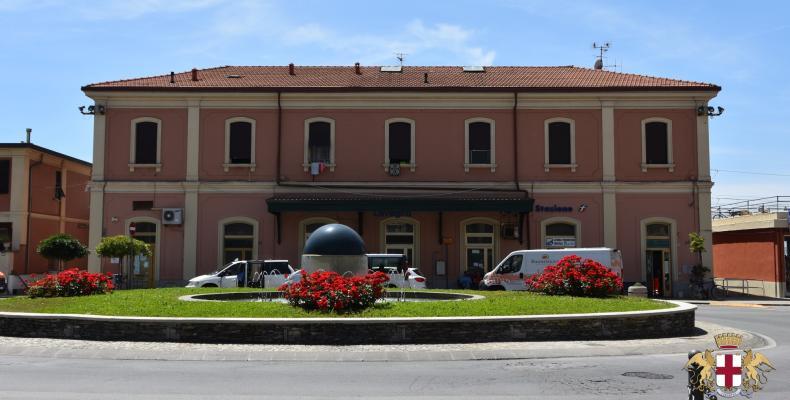 Lavagna, la Stazione Ferroviaria