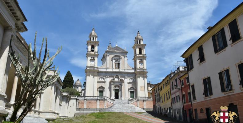 Lavagna, Basilica di S. Stefano vista