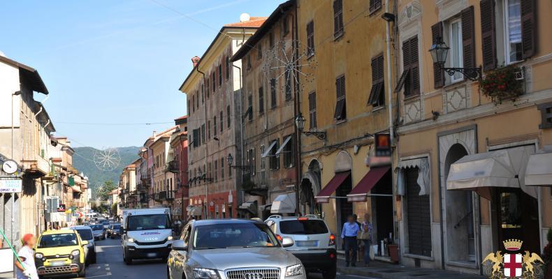 Busalla, via Vittorio Veneto