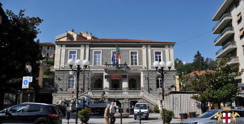 Busalla, sede del Comune