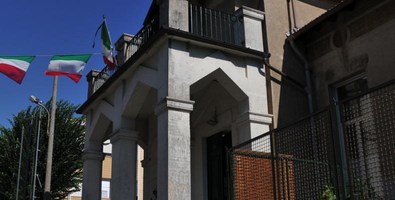 Busalla, asilo infantile di via L. Frugone