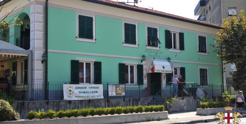 Busalla, sede Croce Verde Busallese