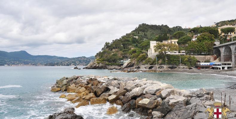 Zoagli, il litorale