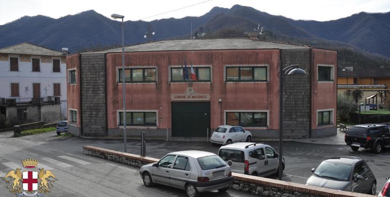 Moconesi, sede del Comune