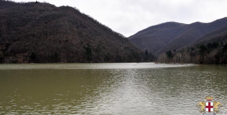 Diga lago del Valnoci, panorama