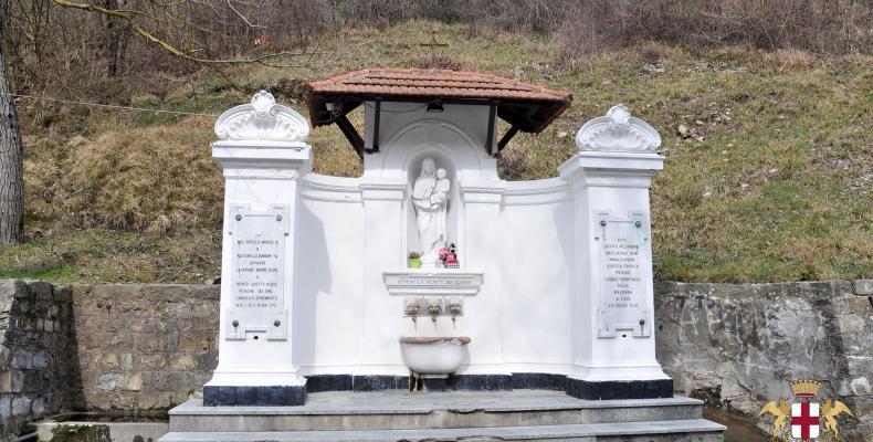 Tre Fontane, fontana