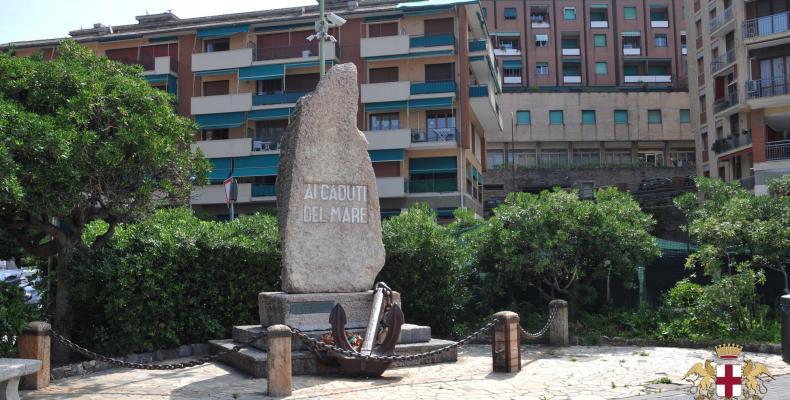 Recco, monumento ai caduti del mare