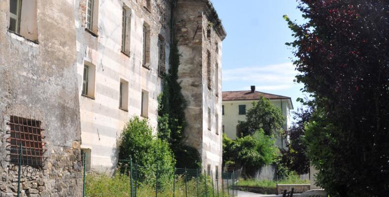 Gorreto, palazzo Centurione - Tornelli
