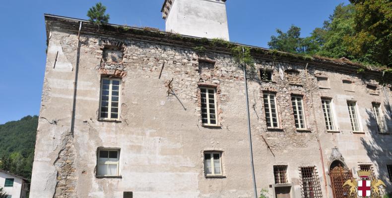 Gorreto, facciata palazzo Centurione - Tornelli