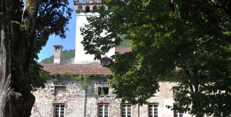 Gorreto, scorcio palazzo Centurione - Tornelli