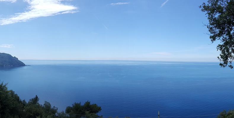 Santa Apollinare, panorama mare