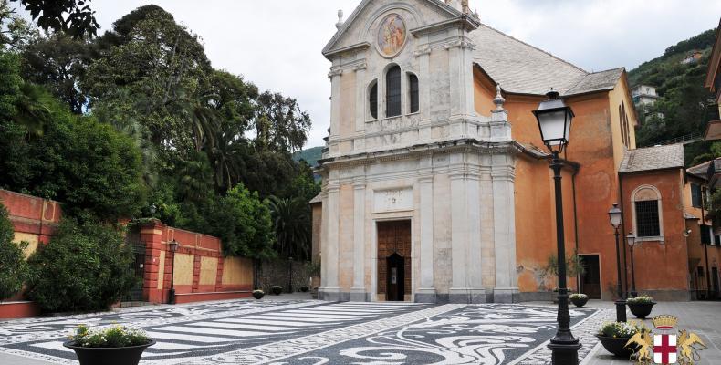 Zoagli, Chiesa di S. Martino