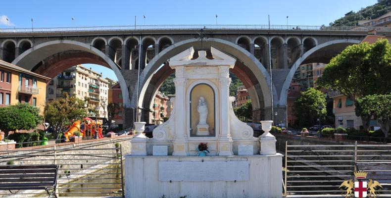 Sori, ponte della Madonnetta