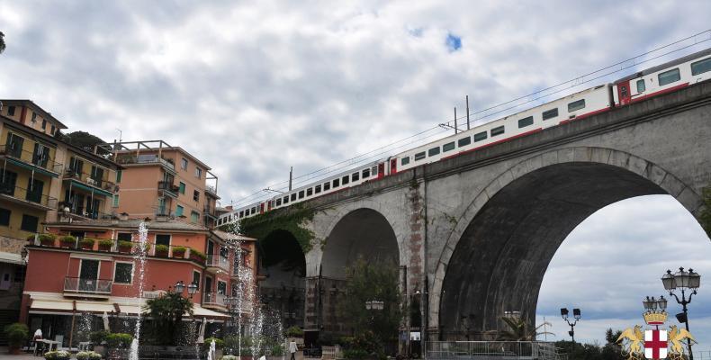 Zoagli, ponte ferroviario