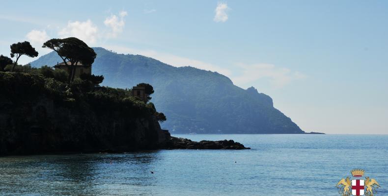 Sori, veduta di Punta Chiappa