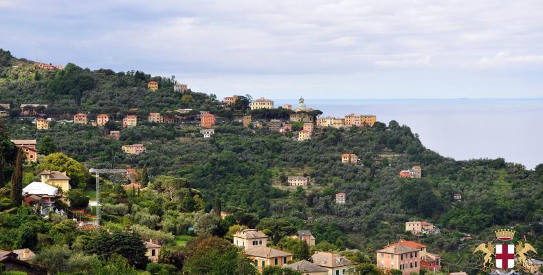 San Rocco di Camogli, visuale