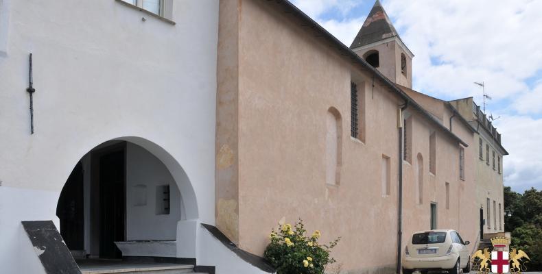 Chiavari, ingresso Santuario di Nostra Signora delle Grazie