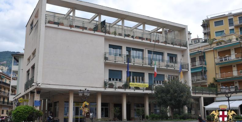 Zoagli, sede del municipio