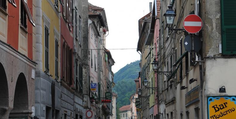 Campo Ligure, Via G. Saracco