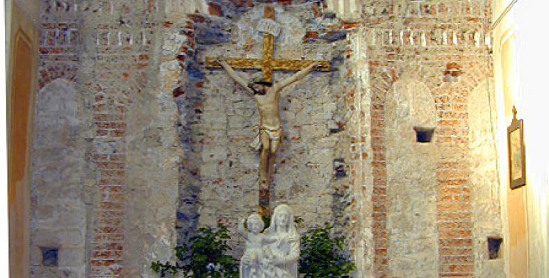 Abbazia Borzone altare
