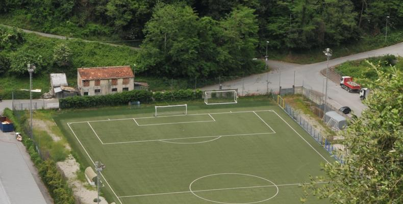 Carasco, campo da calcio