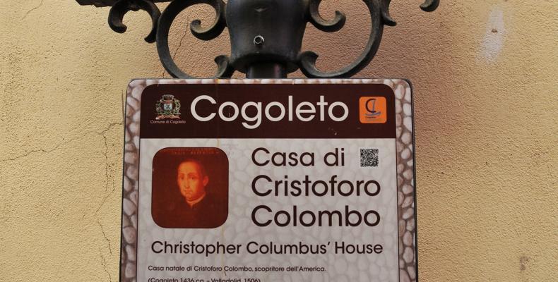 Cogoleto, casa di Colombo