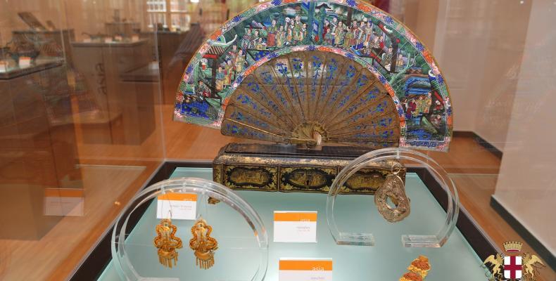 Campo Ligure, Museo della filigrana, il ventaglio