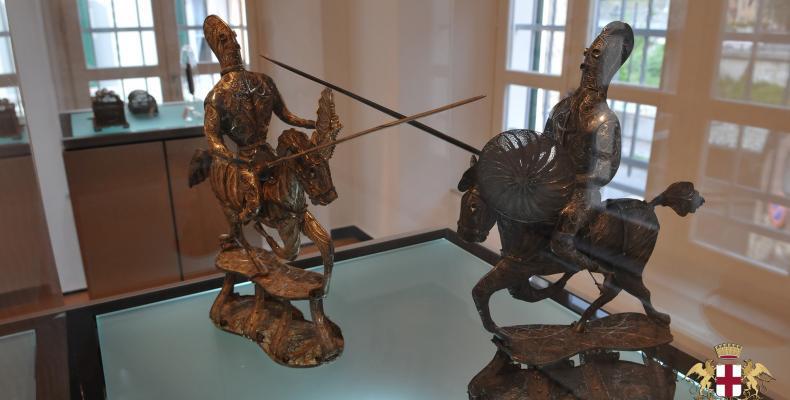 Campo Ligure, il Museo della filigrana, soldati a cavallo