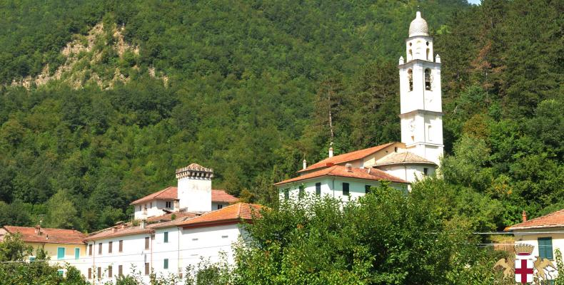 Gorreto, panorama campanile
