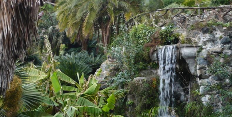 Chiavari, vegetazione Parco Villa Rocca