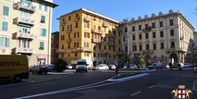 Chiavari, Piazza Cavour