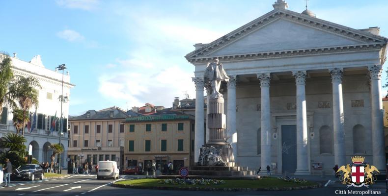 Chiavari, Piazza Nostra Signora dell'Orto