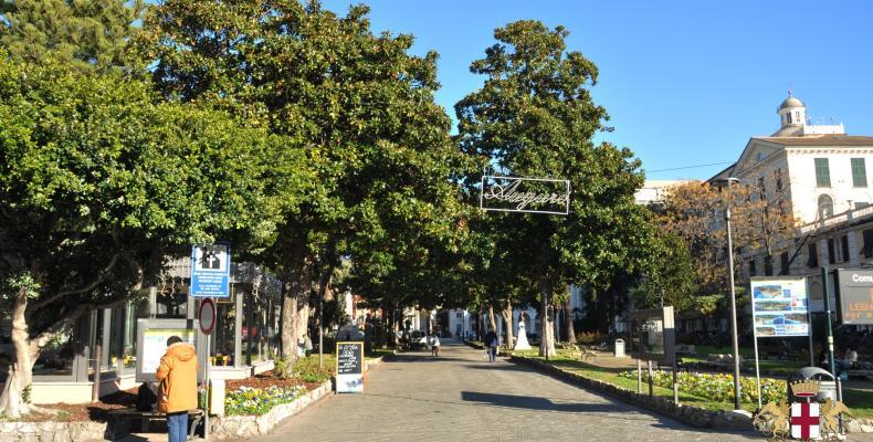 Chiavari, Piazza NS dell'Orto