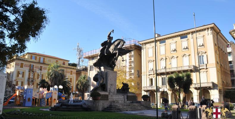Chiavari, Piazza Roma