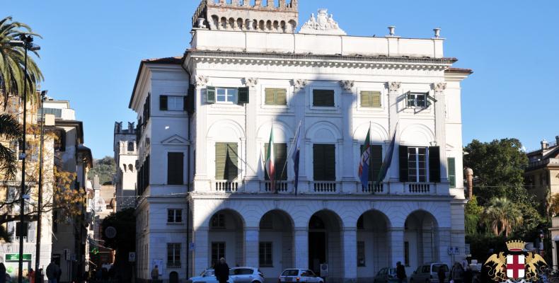 Chiavari, sede del Municipio