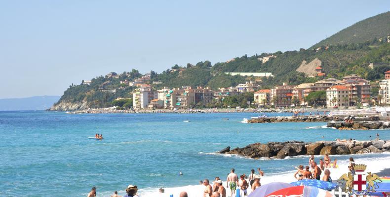 Cogoleto, vista spiaggia
