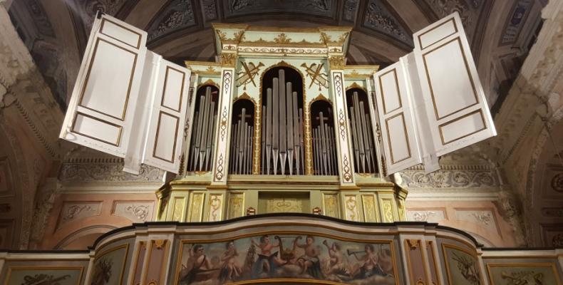 organo restaurato chiesa Coreglia 1