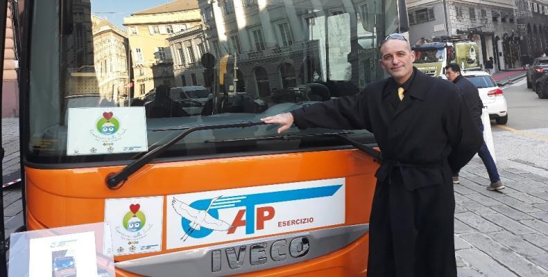 Claudio Garbarino e mezzo ATP