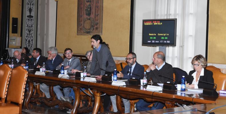 I consiglieri di opposizione in consiglio metropolitano