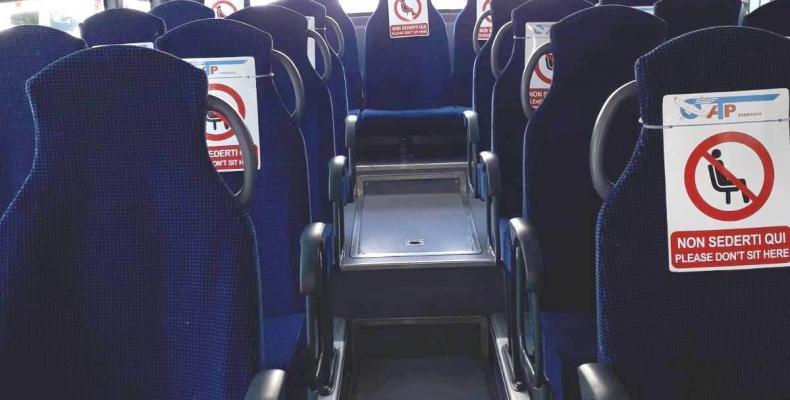 Bus atp: avvisi posti sui sedili