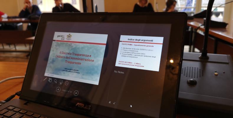 News: Trasparenza e Dati Aperti. la Città Metropolitana di Genova continua gli incontri di UniCO