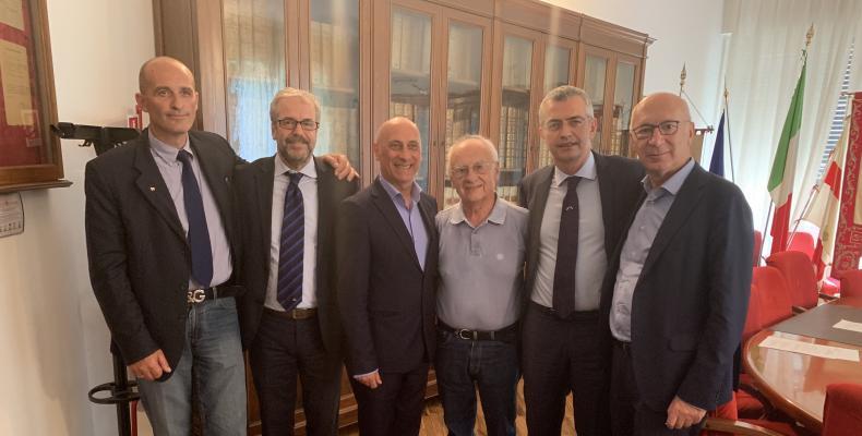 Foto di gruppo di alcuni consiglieri delegati