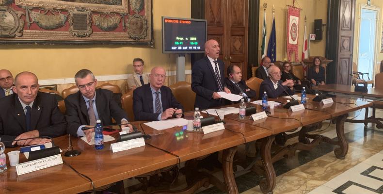 Il Consigliere Delegato Stefano Anzalone presenta la proposta 2293