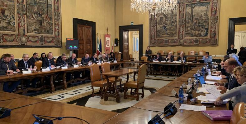 il consiglio metropolitano (immagine di repertorio)