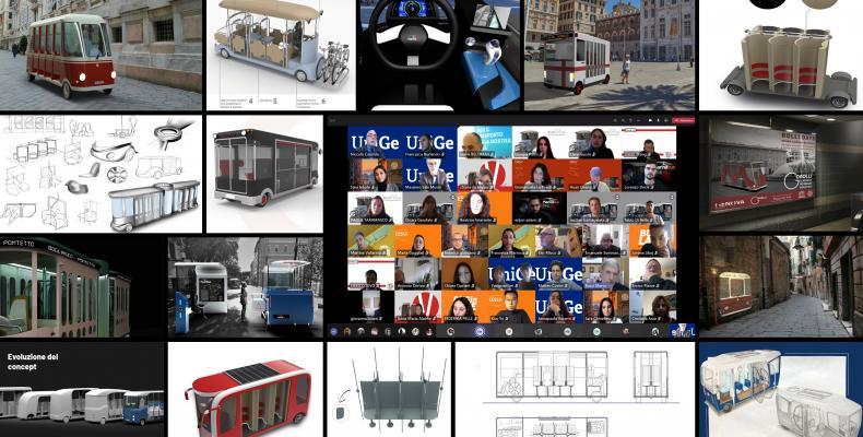 Collage di 16 immagini relative alla micro mobilità