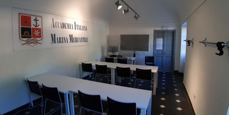 L'interno del laboratorio